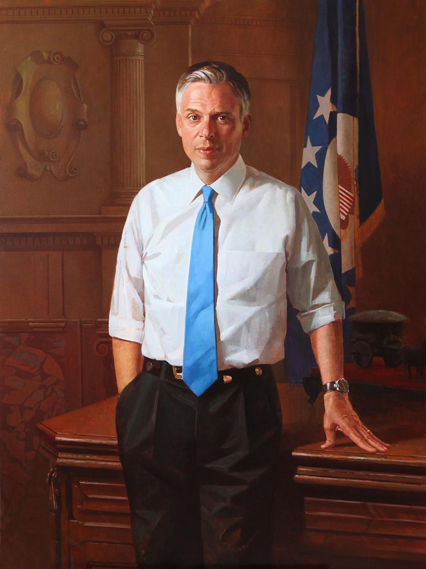 Utah Governor Jon M. Huntsman