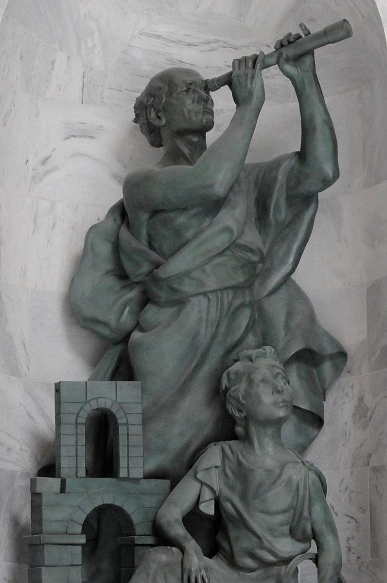 utah state capitol rotunda niche sculpture