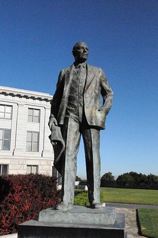 Utah State Capitol Daniel Jackling sculpture