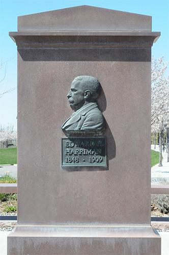 Utah State Capitol Edward Harriman Monument