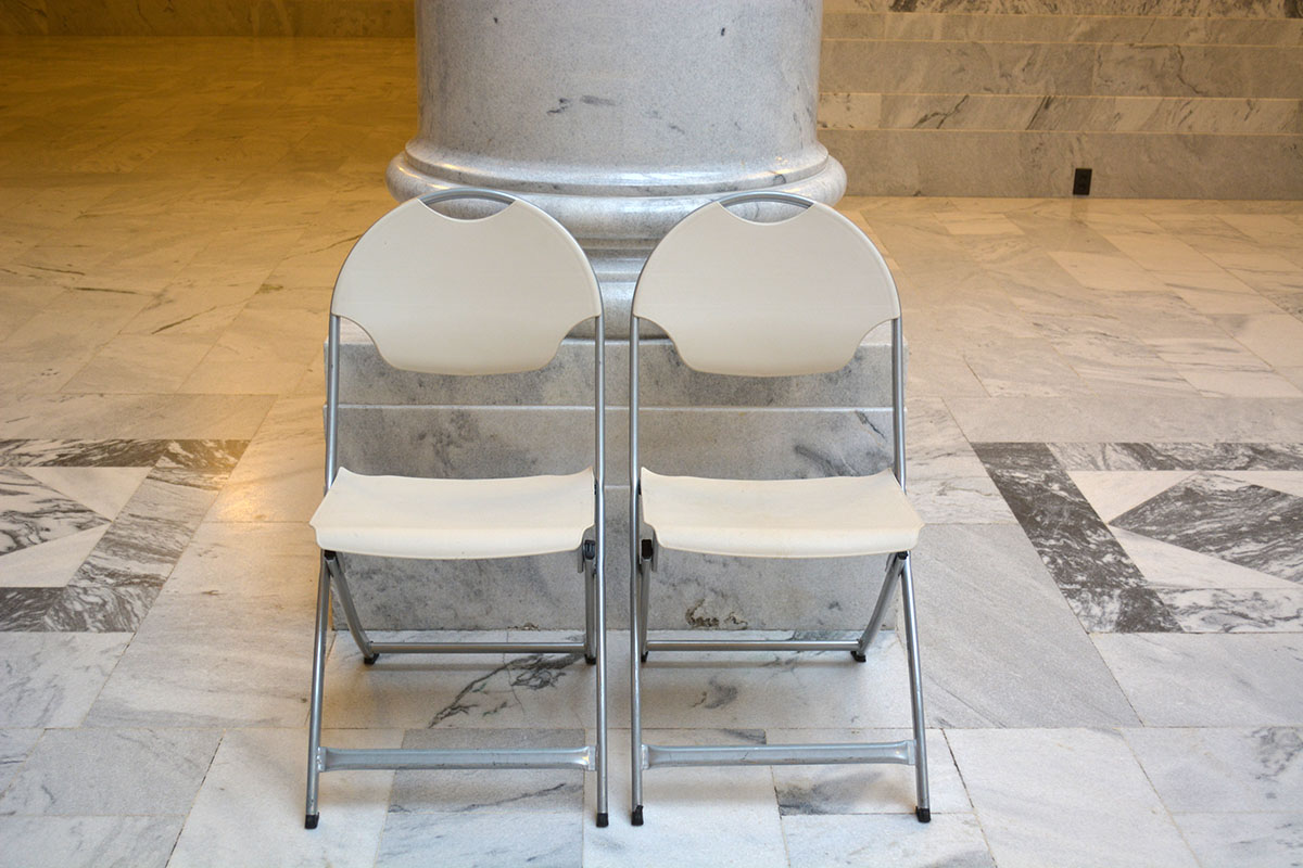folding chairs rental utah state capitol