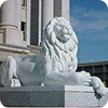 Utah State Capitol lion