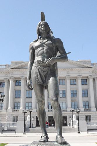 Utah State Capitol Chief Massasoit